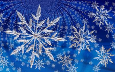 Het hele jaar sneeuwvlokjes